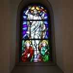 Glasfenster der Kirche in Albshausen